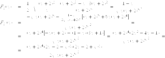 \begin{array}{lll} \displaystyle F_3'(x)&=&\displaystyle\frac12\cdot\sqrt{\frac{(x+2)^3}{x}}\cdot \frac{(x+2)^3-x\cdot3(x+2)^2}{(x+2)^6}= \frac{1-x}{\sqrt{x(x+2)^5}},\\ F_3''(x)&=&\displaystyle \frac{-\sqrt{x(x+2)^5}-\frac{1-x}{2\sqrt{x(x+2)^5}} [(x+2)^5+5x(x+2)^4]}{\sqrt{x(x+2)^5}^{\; 2}}=\\ &=&\displaystyle \frac{(x+2)^4[-x(x+2)-(1-x)(3x+1)]}{\sqrt{x(x+2)^5}^{\; 3}}= \frac{(x+2)^4(2x^2-4x-1)}{\sqrt{x(x+2)^5}^{\; 3}}=\\ &=&\displaystyle \frac{(x+2)^4(2x-2-\sqrt{6})(2x-2+\sqrt{6})}{2\sqrt{x(x+2)^5}^{\; 3}}. \end{array}